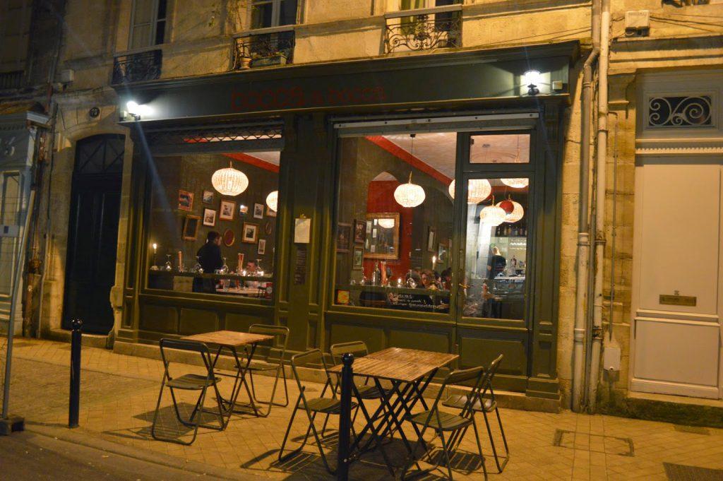 bocca a bocca restaurant italien rue notre dame Bordeaux blog Camille in Bordeaux