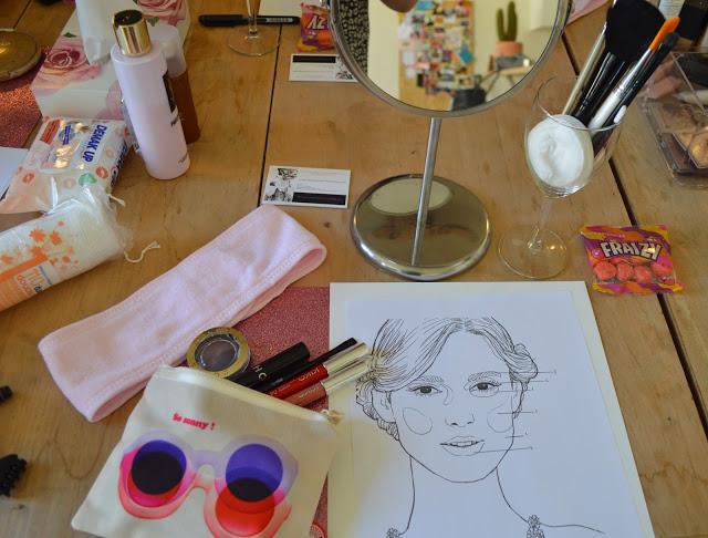 L'atelier mode Bordeaux cours de maquillage