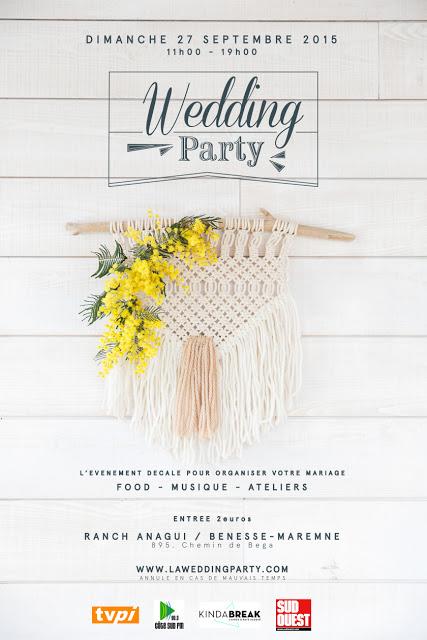 wedding party landes