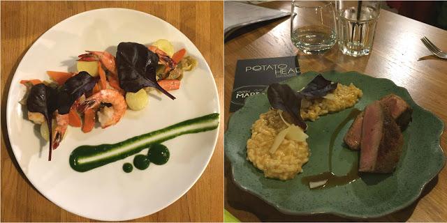 Potato Head : cuisine fraîche & patio bucolique