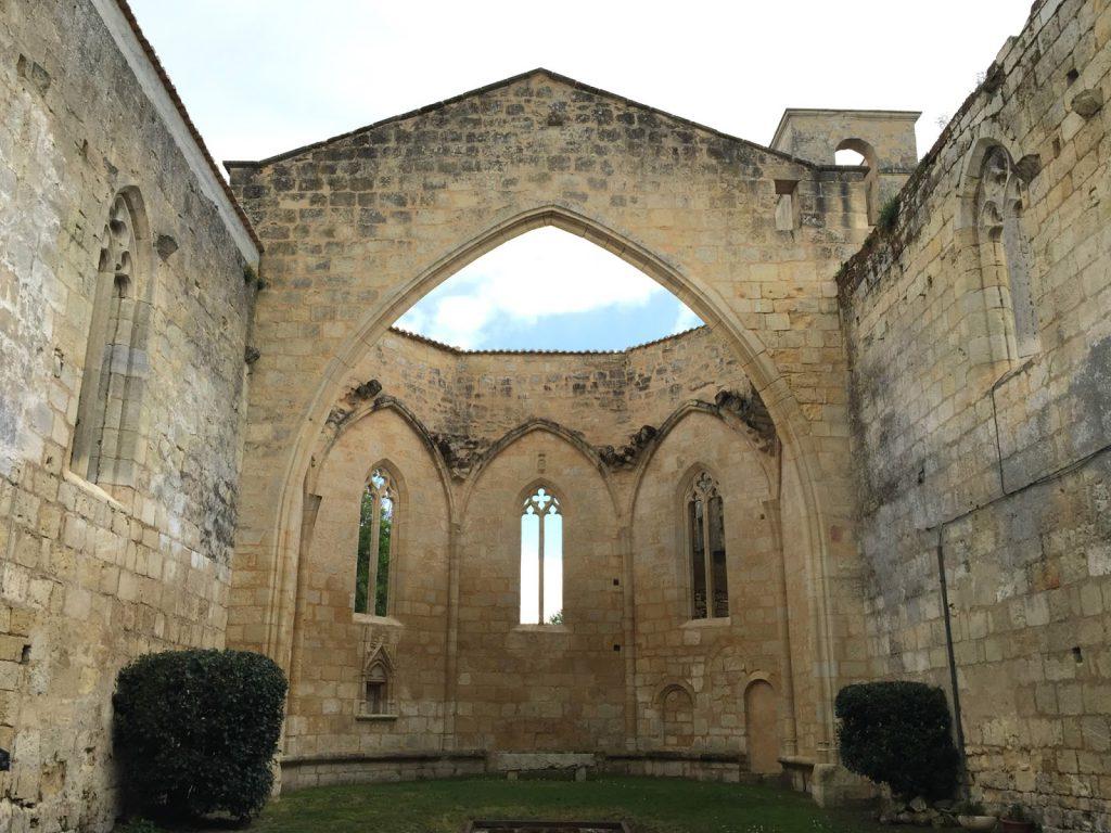cloître des cordeliers Saint Emilion - Camille In Bordeaux