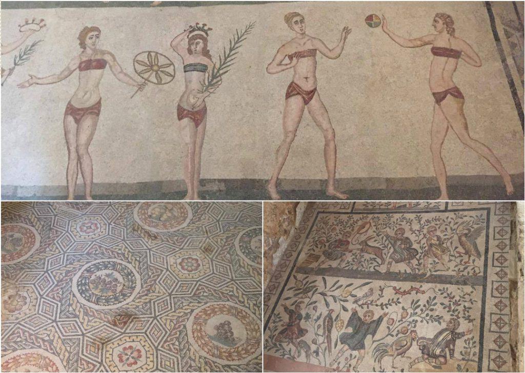 Voyage en Sicile mosaïque piazza Armerina