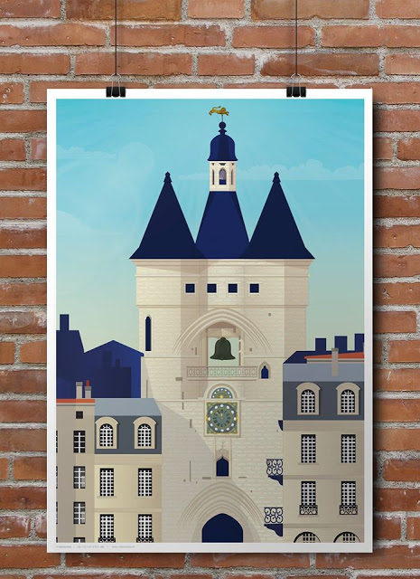 Les Instantanés Bordeaux cartes et affiches Sud Ouest - blog Camille In Bordeaux