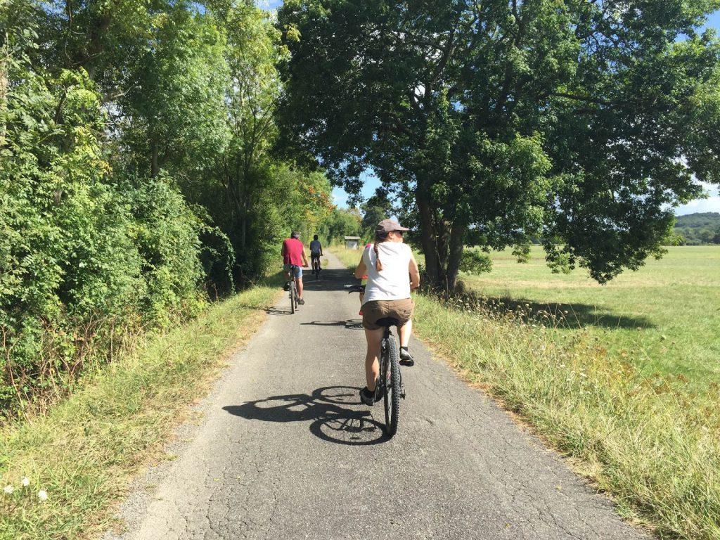 VTT dans les Landes - blog Camille In Bordeaux