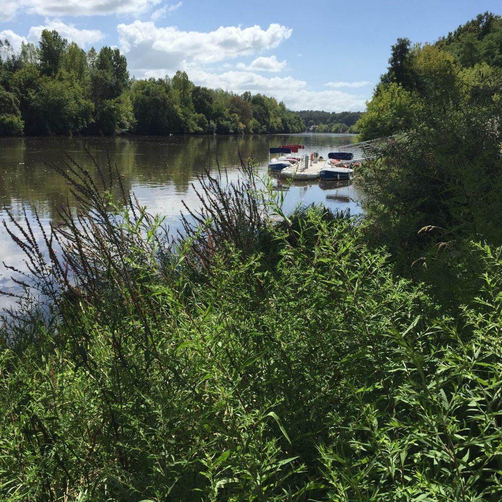 VTT sur les bords de l'Adour - blog Camille In Bordeaux