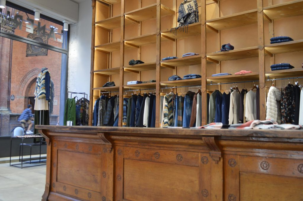 boutique Zinelli Bologna shopping