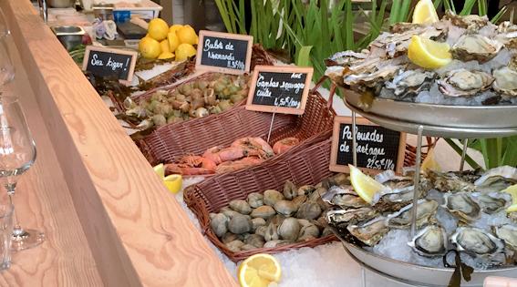 fruits de mer chez boulan bistro iodé blog bordeaux