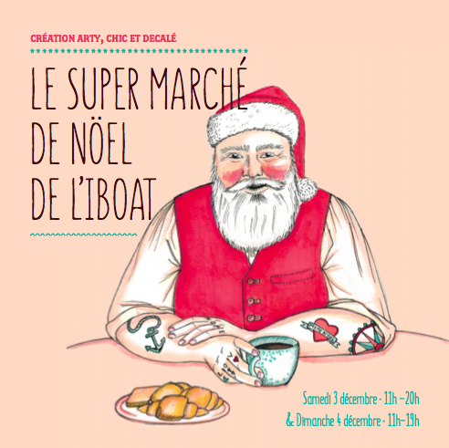 super marché de noel de l'iboat bordeaux