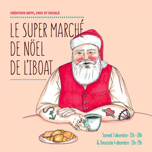 super marché de noel de l'iboat bordeaux