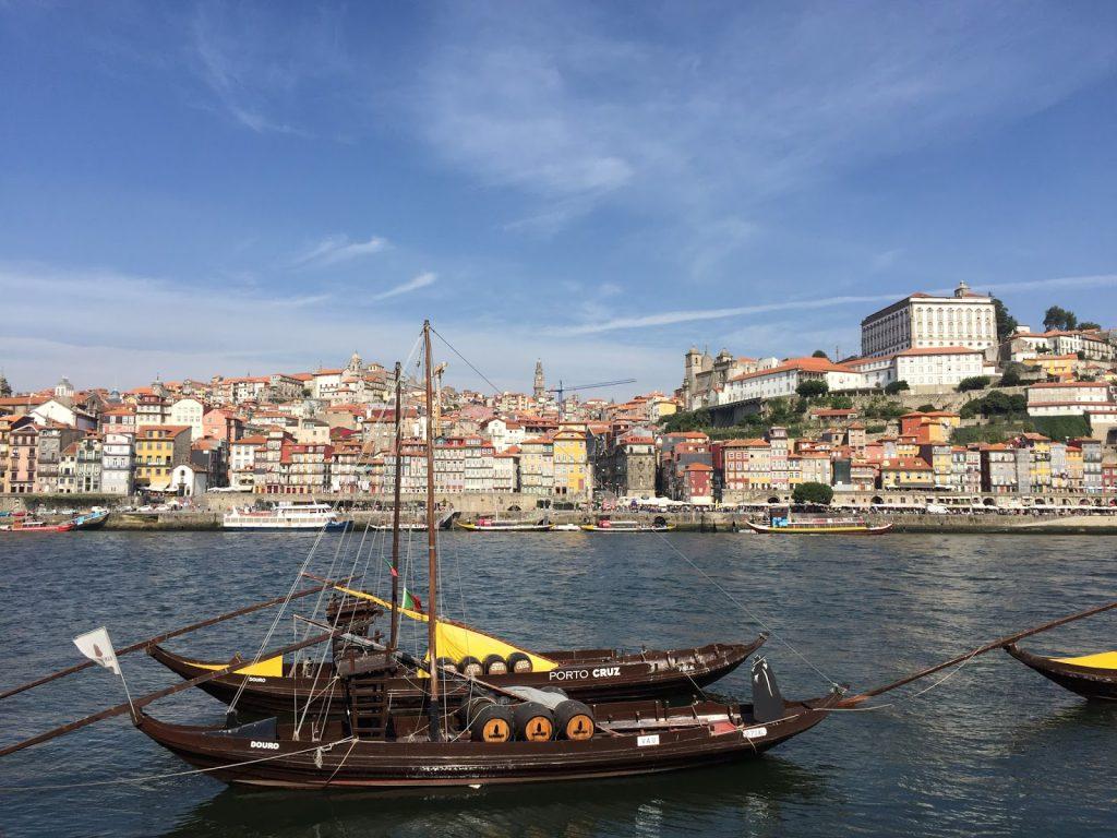 bords du douro porto blog voyage camille in bordeaux