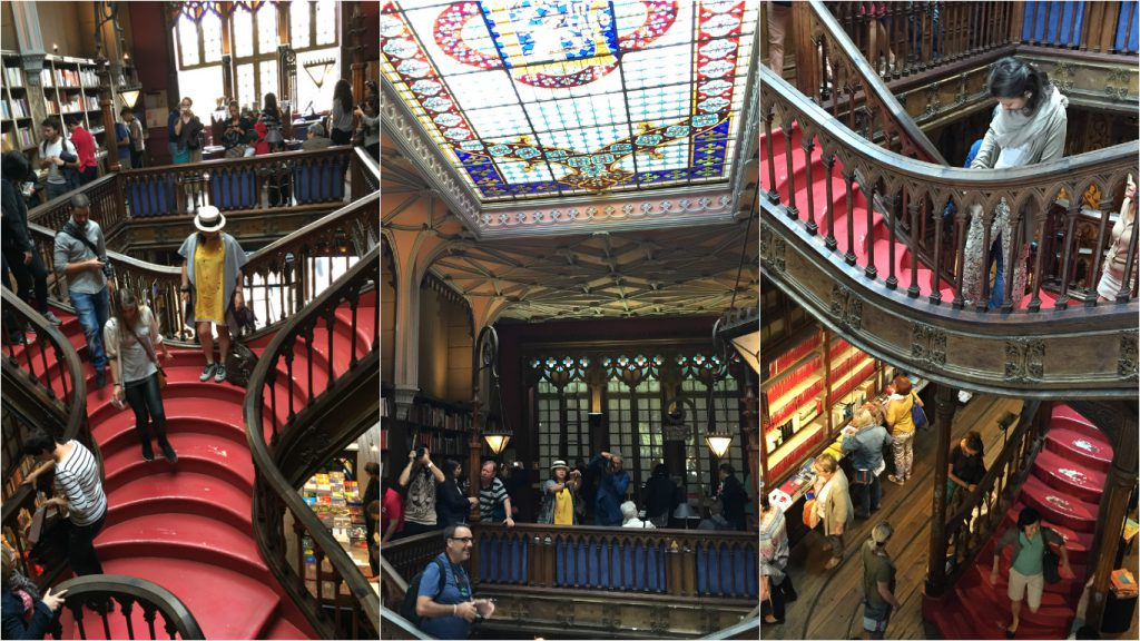lello library harry potter Porto