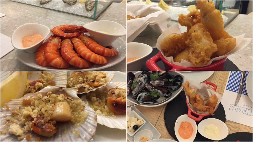 restaurant poisson fruits de mer Porto blog voyage camille in bordeaux
