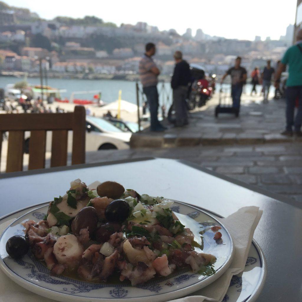 salade de poulpe porto super restaurant