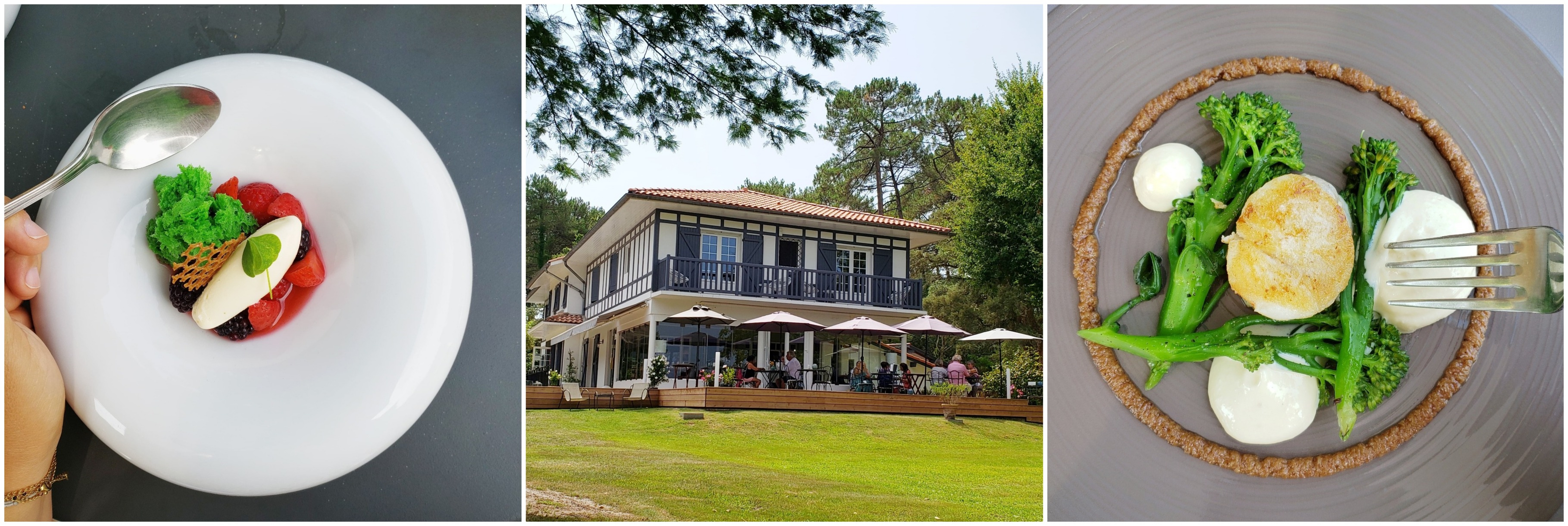 villa étang blanc Seignosse