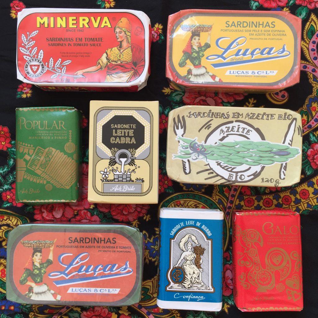 sardines savons porto souvenirs blog voyage