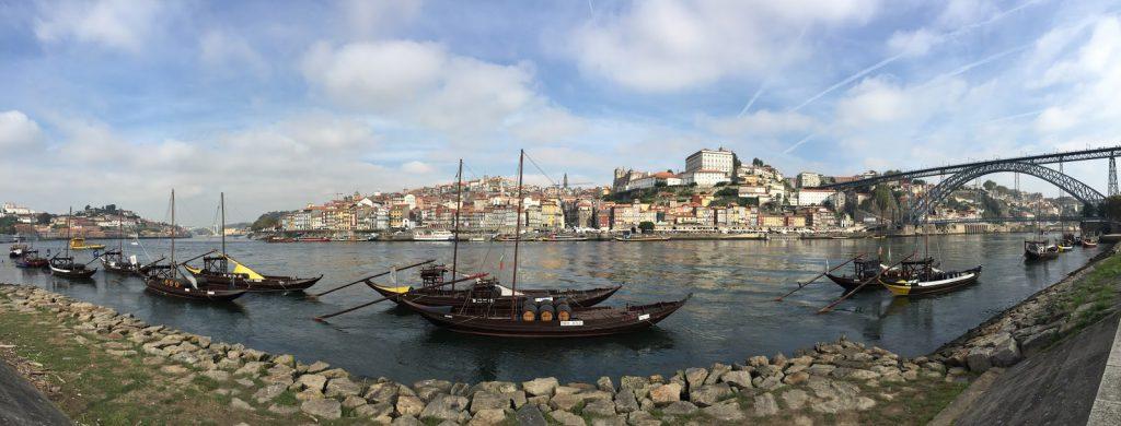 panorama porto bords du douro blog voyage