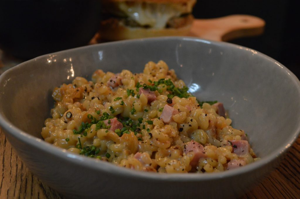 echo cave à manger risotto de coquillettes bordeaux blog camille in bordeaux