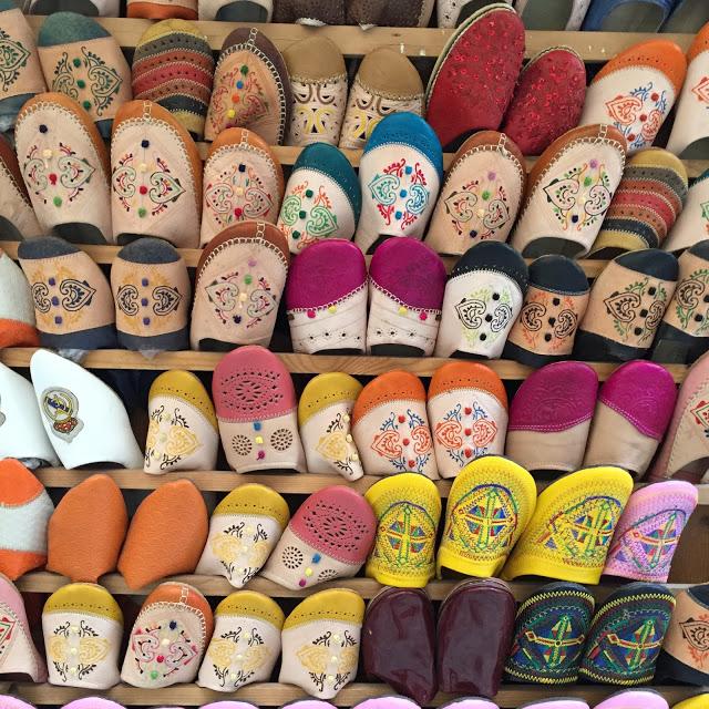 medina fes maroc babouche