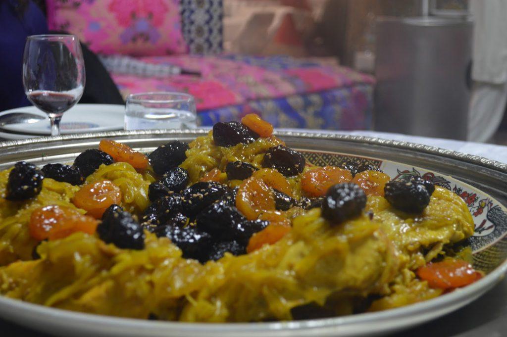 restaurant fes medina palais mnebhi