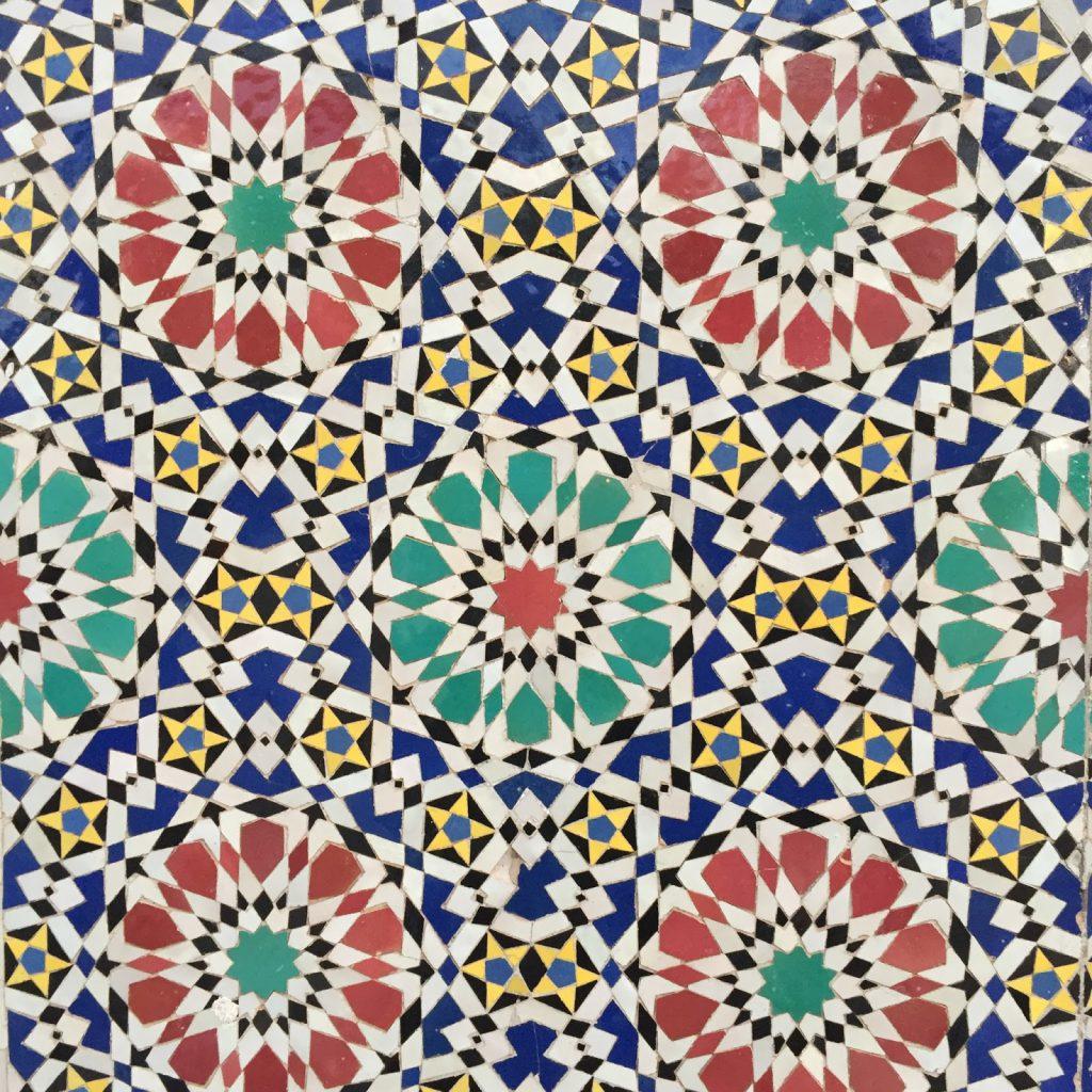 voyage maroc medina fes mosaique zelliges