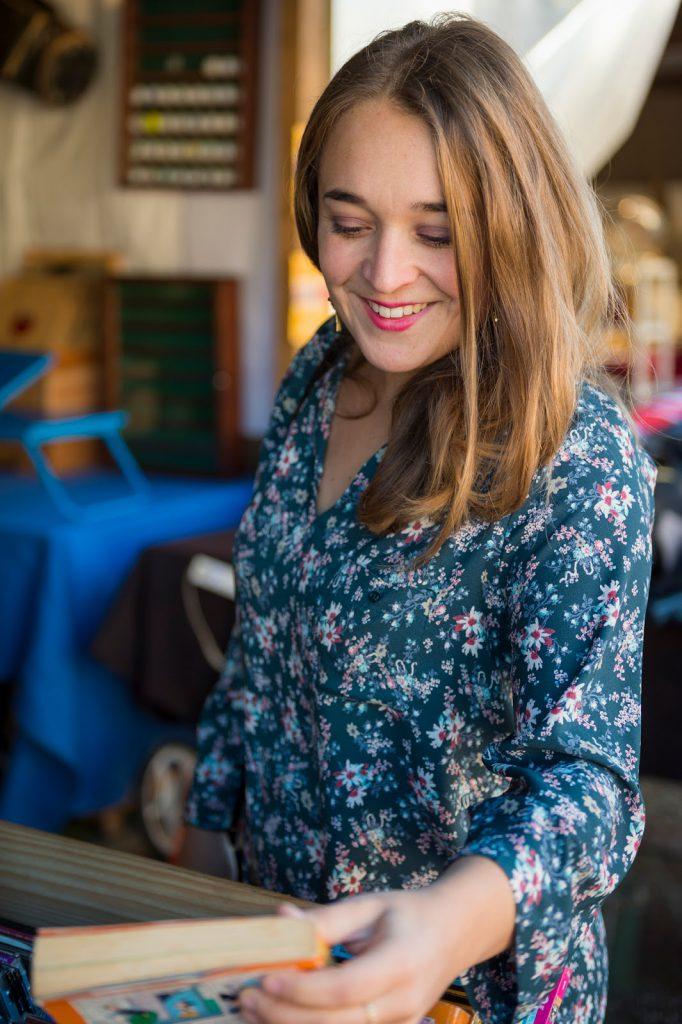 robe fleurie boutique bordeaux les sisterettes blog camille in bordeaux