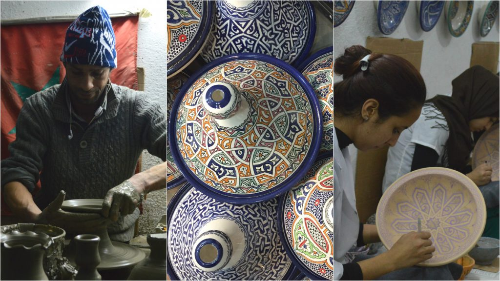 fes medina poterie maroc blog voyage camille in bordeaux