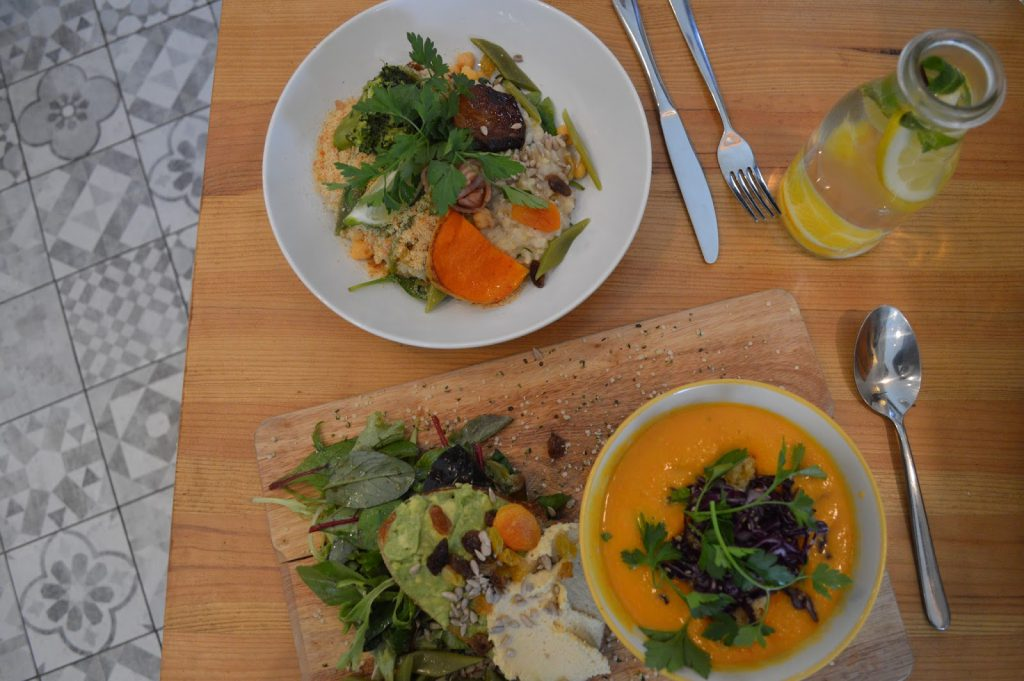 restaurant végétarien bordeaux Kitchen Garden