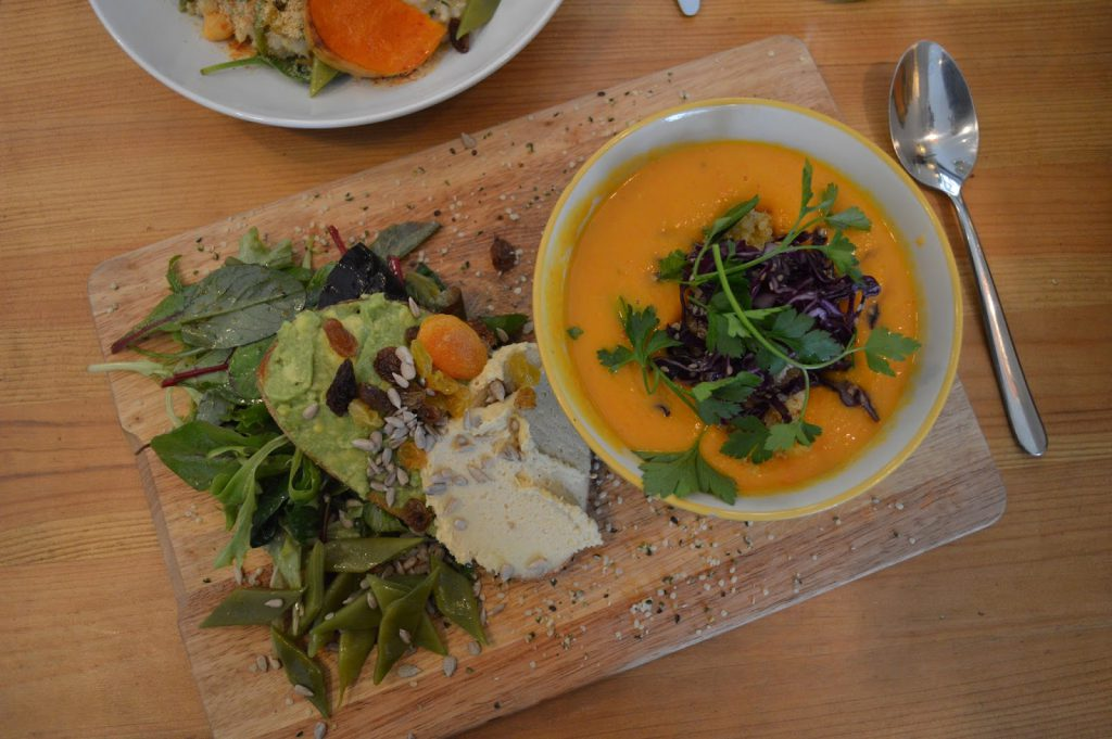 restaurant veggan Bordeaux Kitchen Garden Camille in Bordeaux végétarien