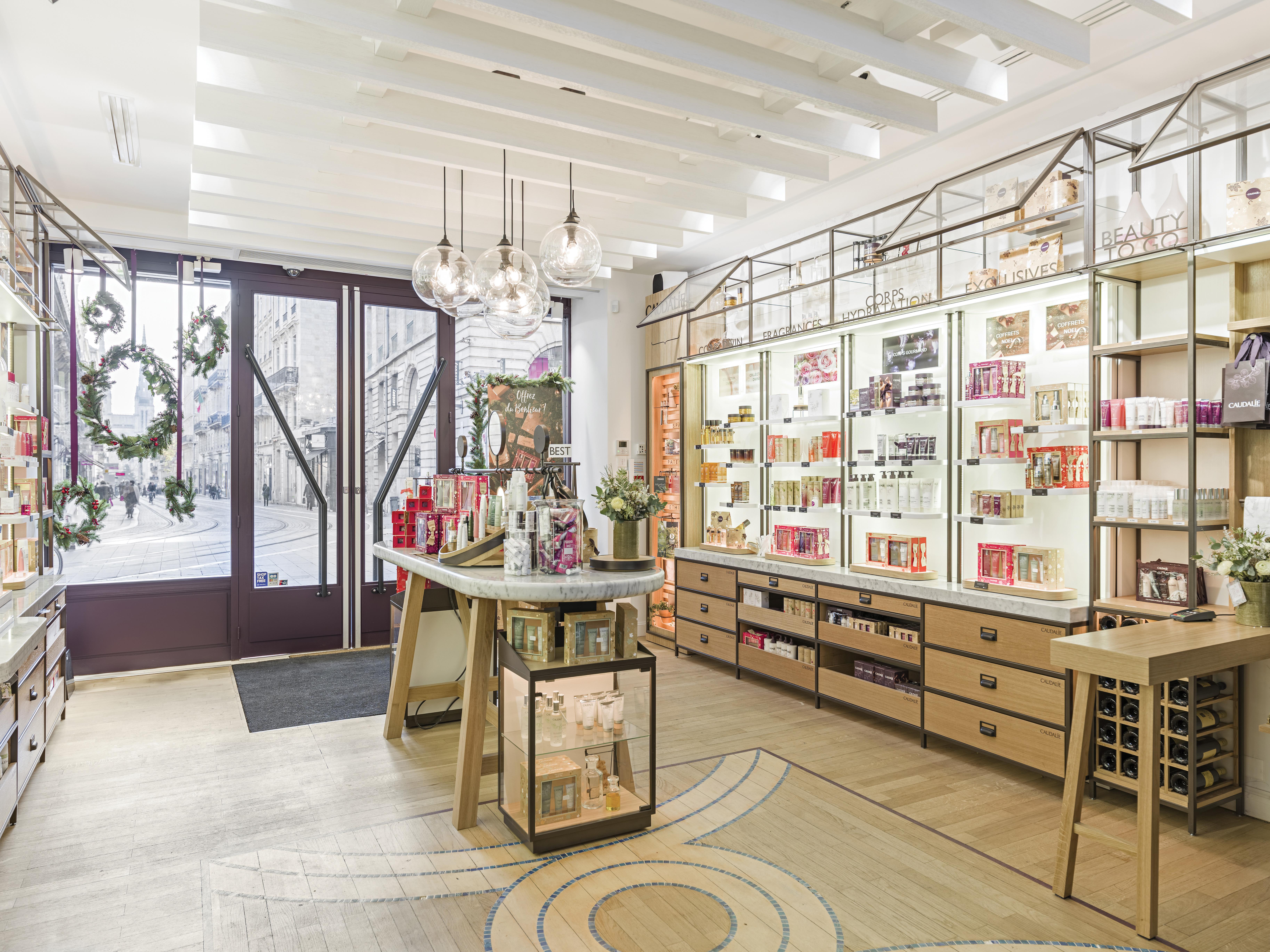 boutique spa caudalie bordeaux cours de l'intendance blog camille in bordeaux