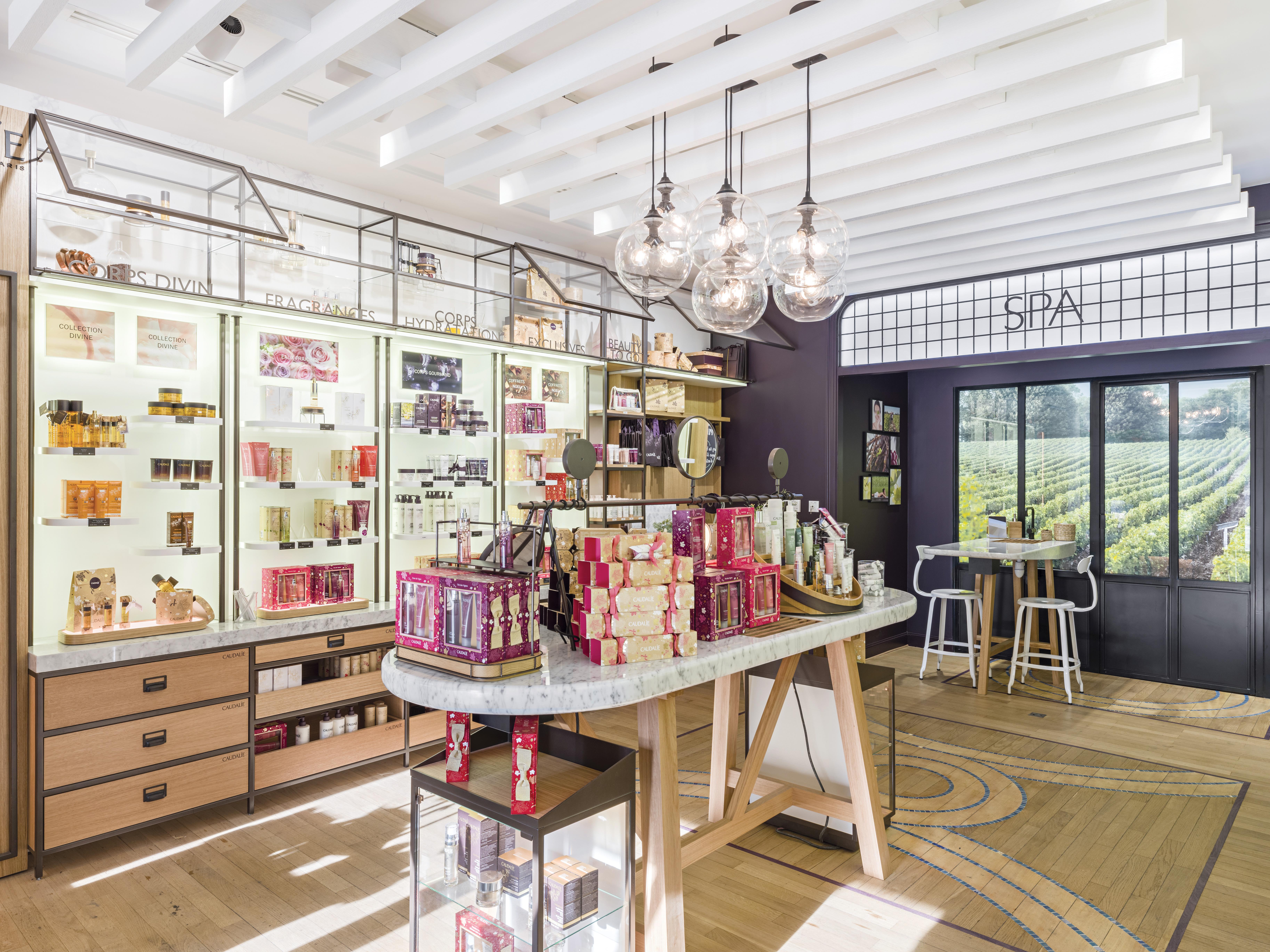La boutique spa caudalie bordeaux camille in bordeaux for Salon the bordeaux
