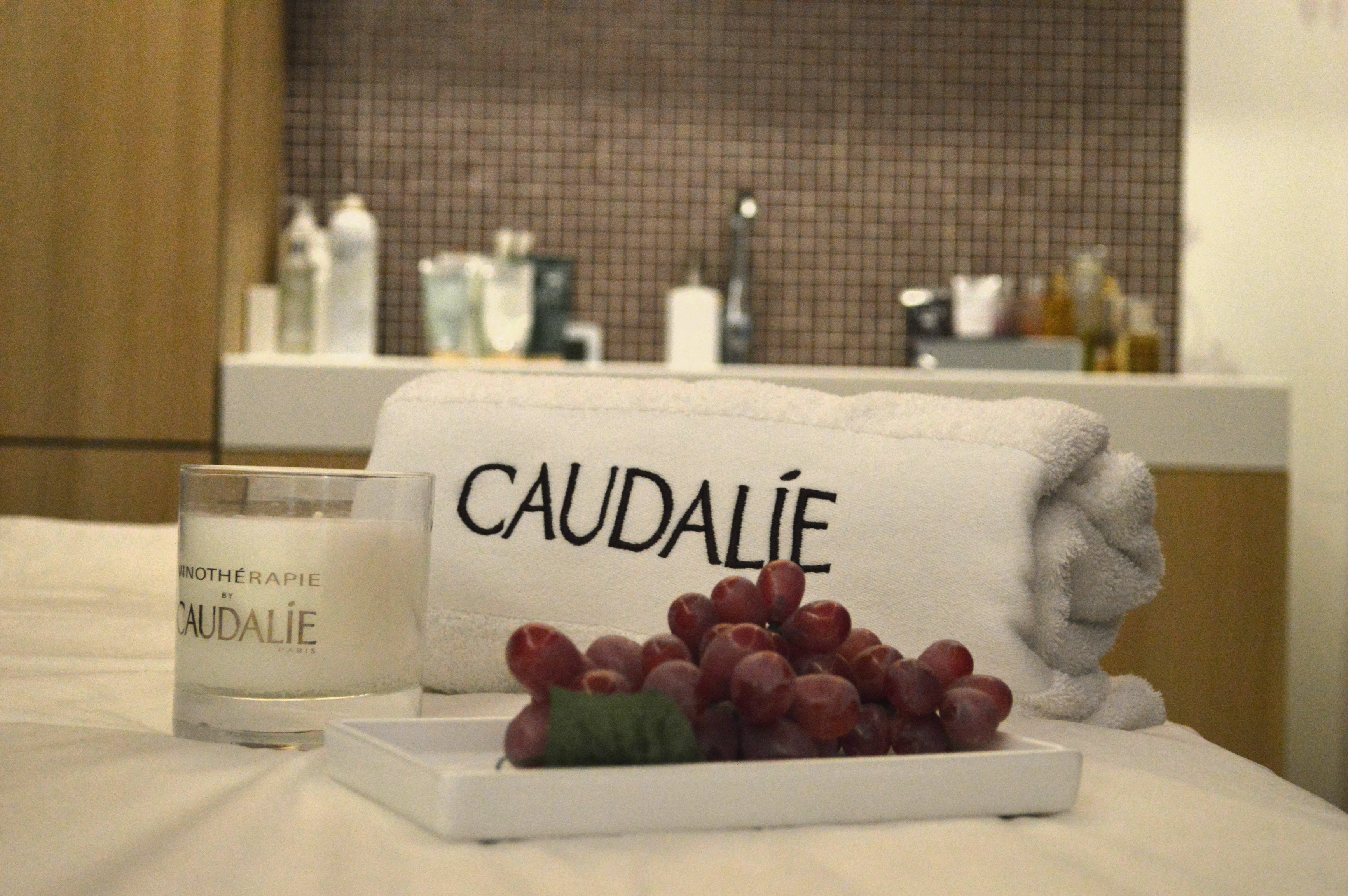 boutique spa Caudalie Bordeaux blog Camille In Bordeaux