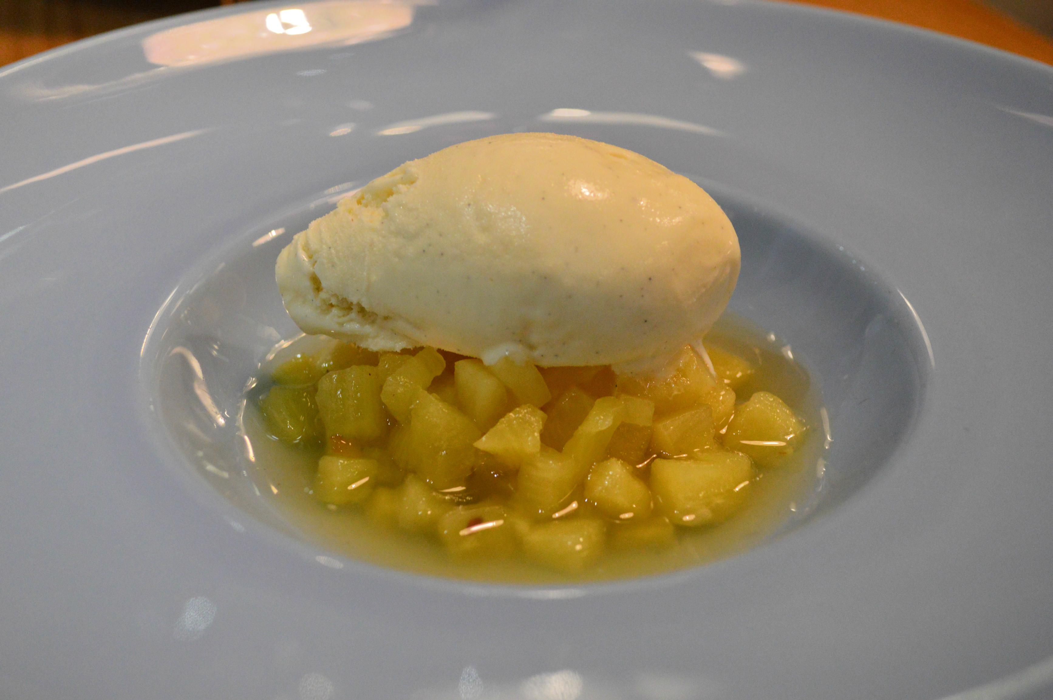 dessert restaurant le taïaut talence chef florent Chicard blog food Camille In Bordeaux