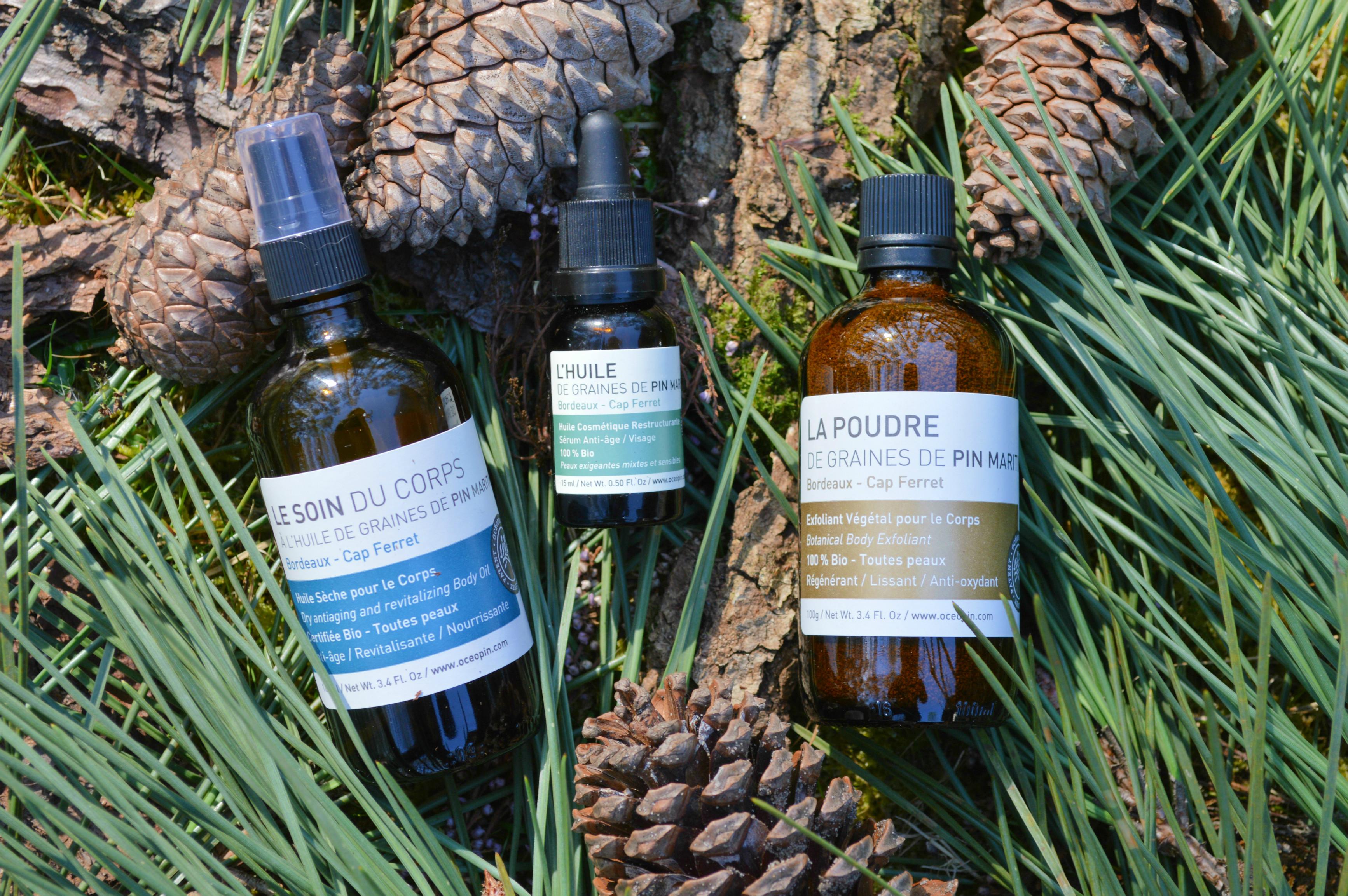 huile de graines de pins maritimes océopin bordeaux cap ferret Camille In Bordeaux