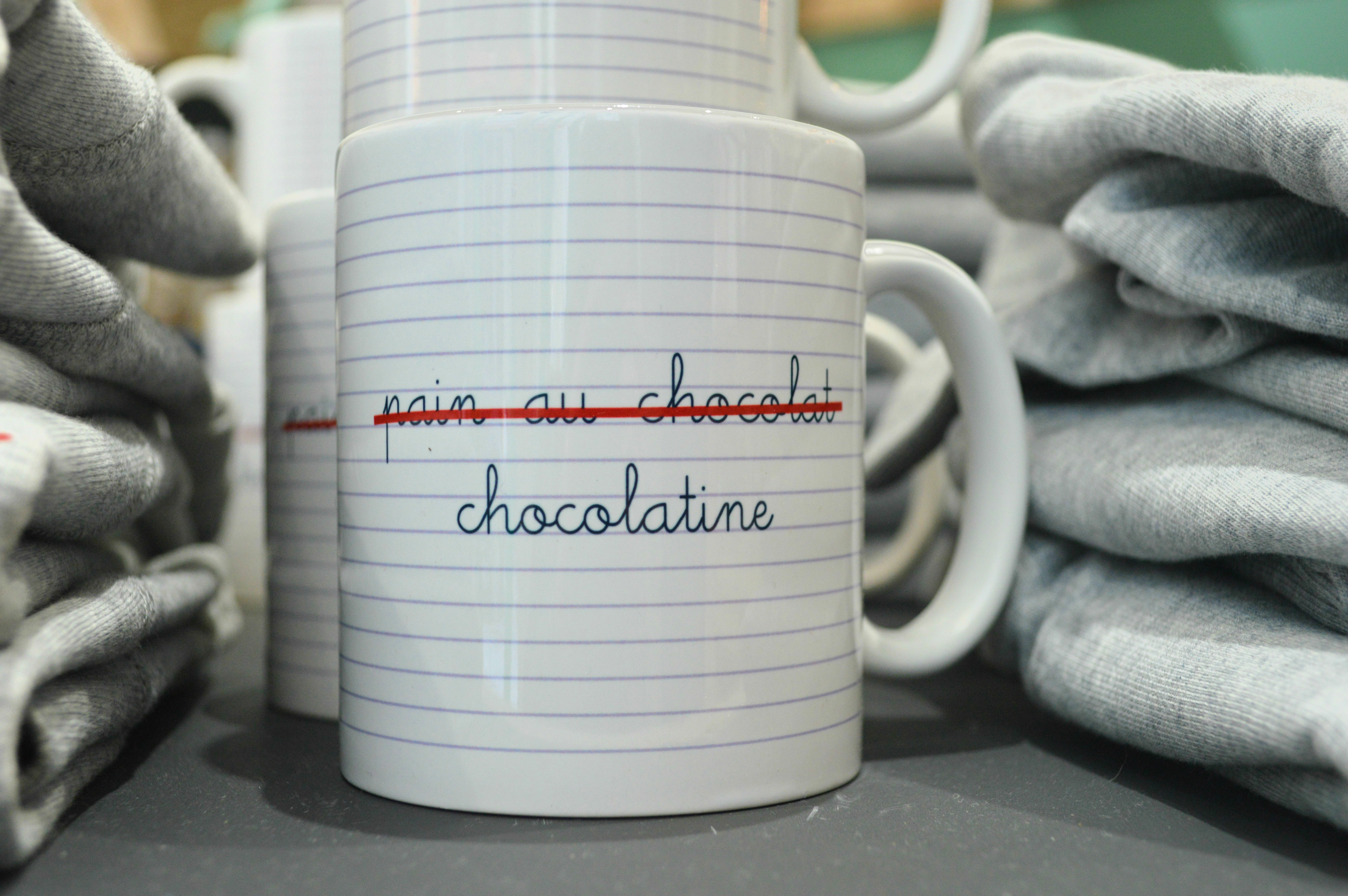 mug chocolatine concept store Bordeaux BAAAM blog Camille in Bordeaux