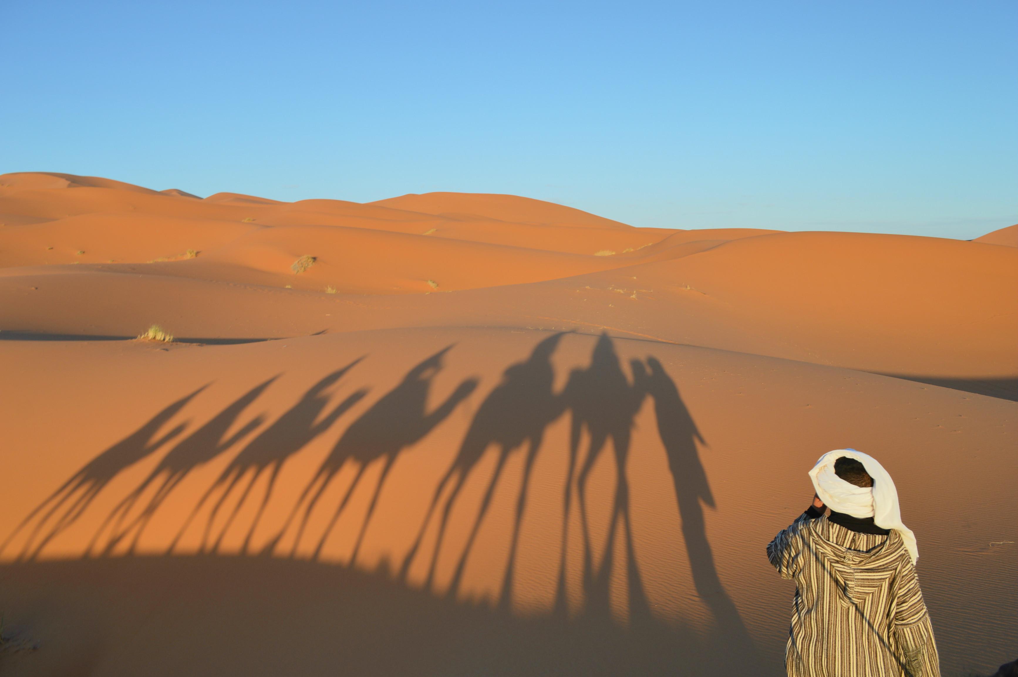 trek dans le désert du Sahara expérience blog voyages Camille In Bordeaux