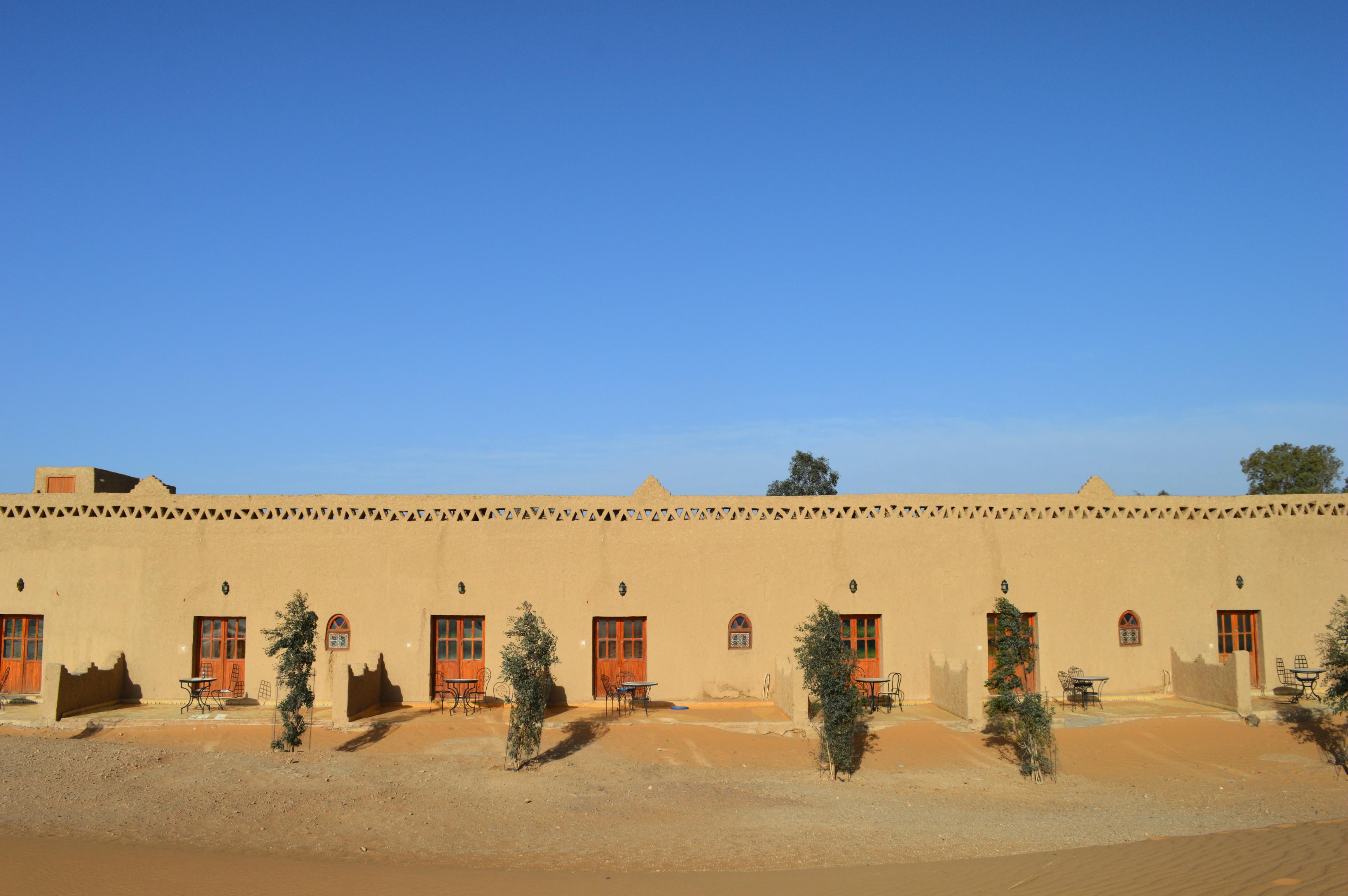 hôtel auberge dunes d'or Sahara Merzouga Maroc blog voyages camille in bordeaux