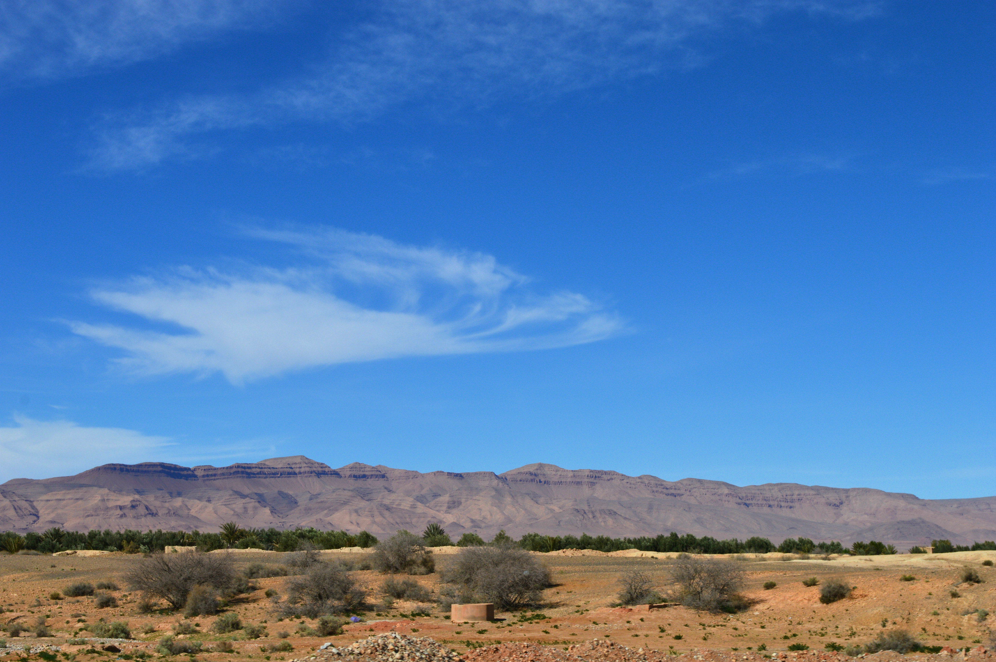 sur la route de Merzouga à Midelt Maroc