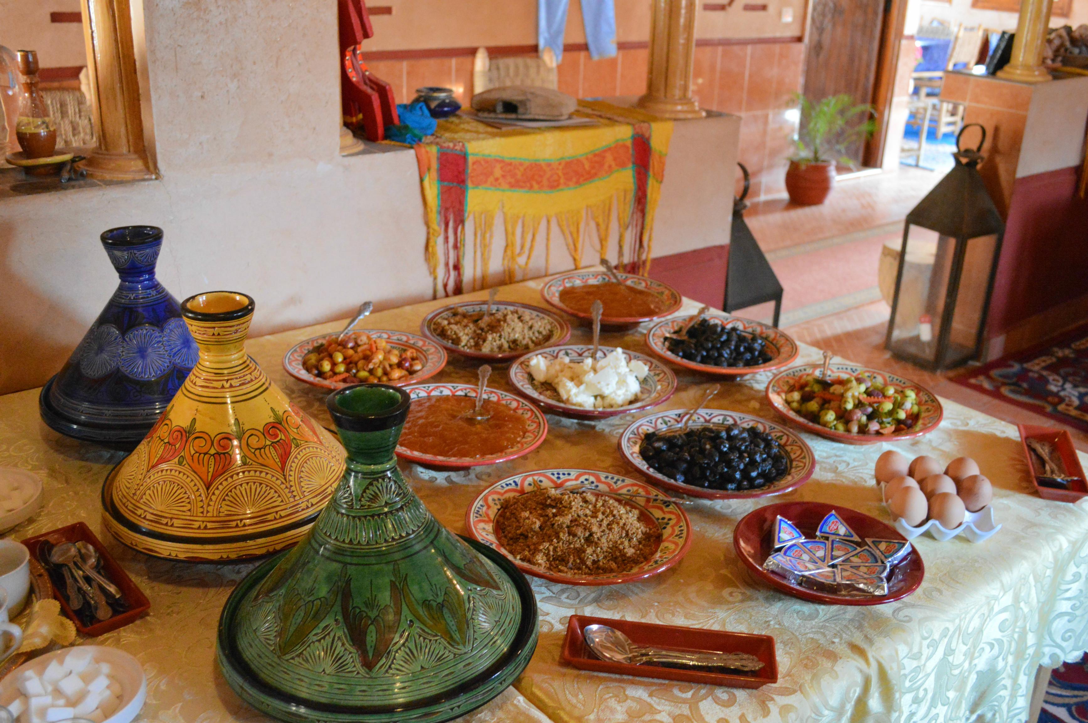 petit déjeuner Amazigh Dadès