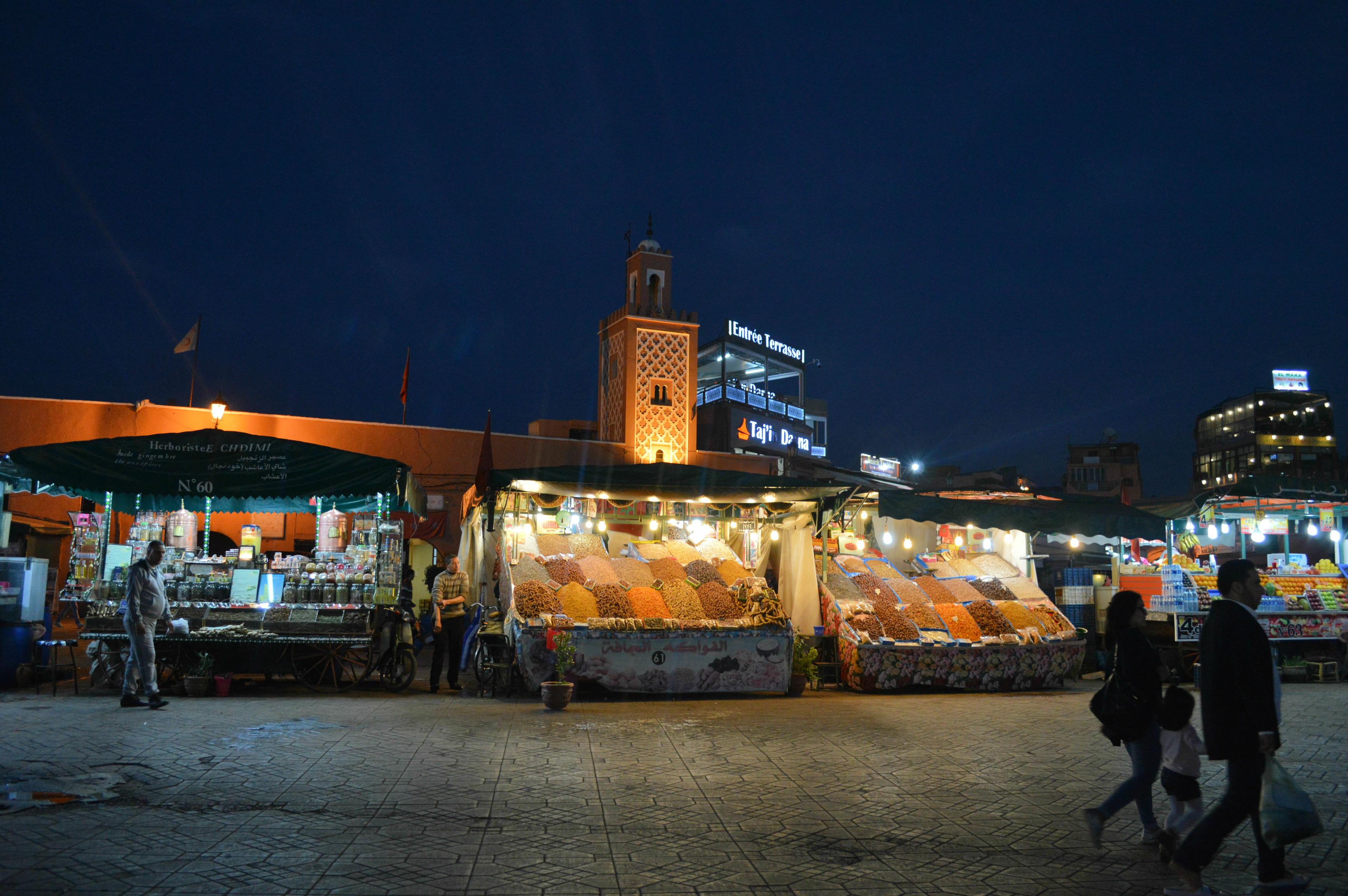 place jemaa el fna Marrakech Camille in Bordeaux