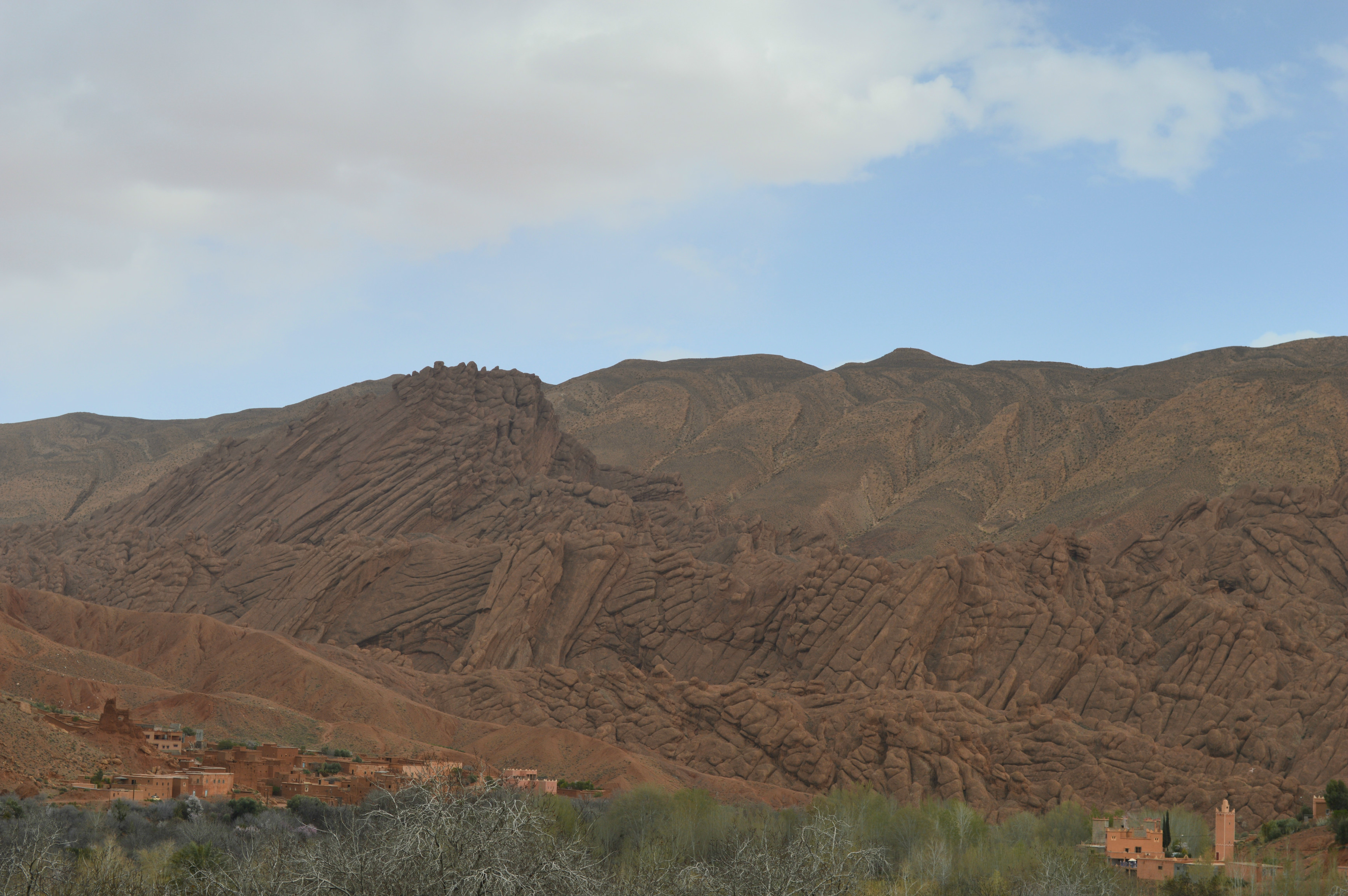 vallée des pattes de singe Dadès Maroc