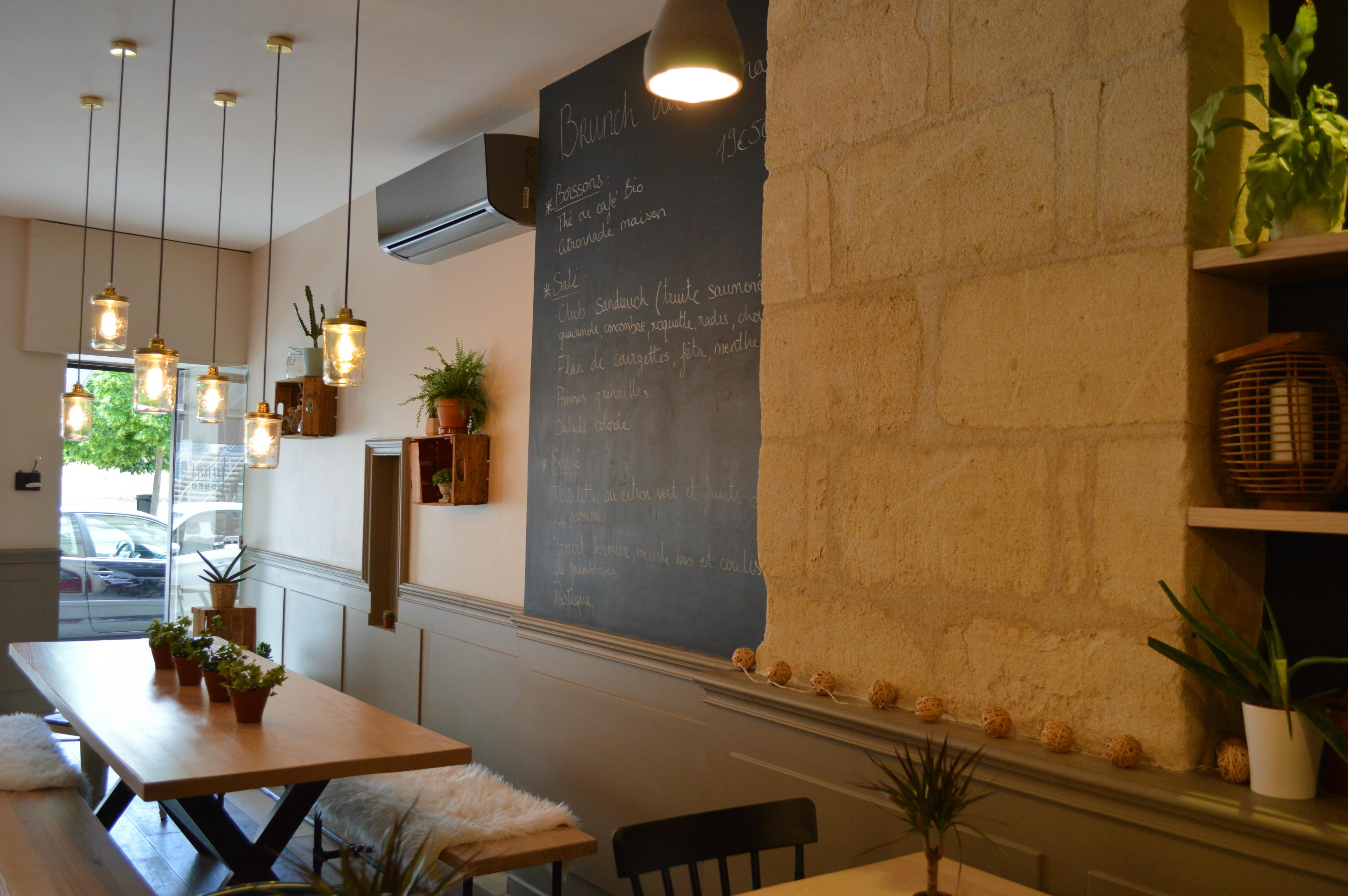 l'instant bordeaux restaurant pause déjeuner - blog Camille in Bordeaux