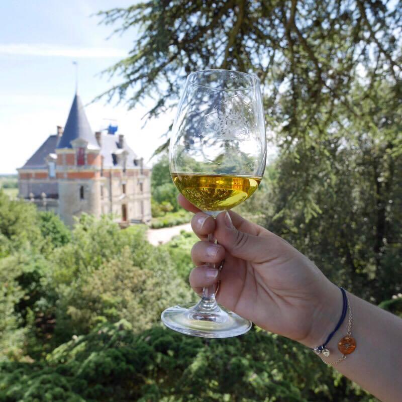dégustation perchée château rayne vigneau - Camille In Bordeaux