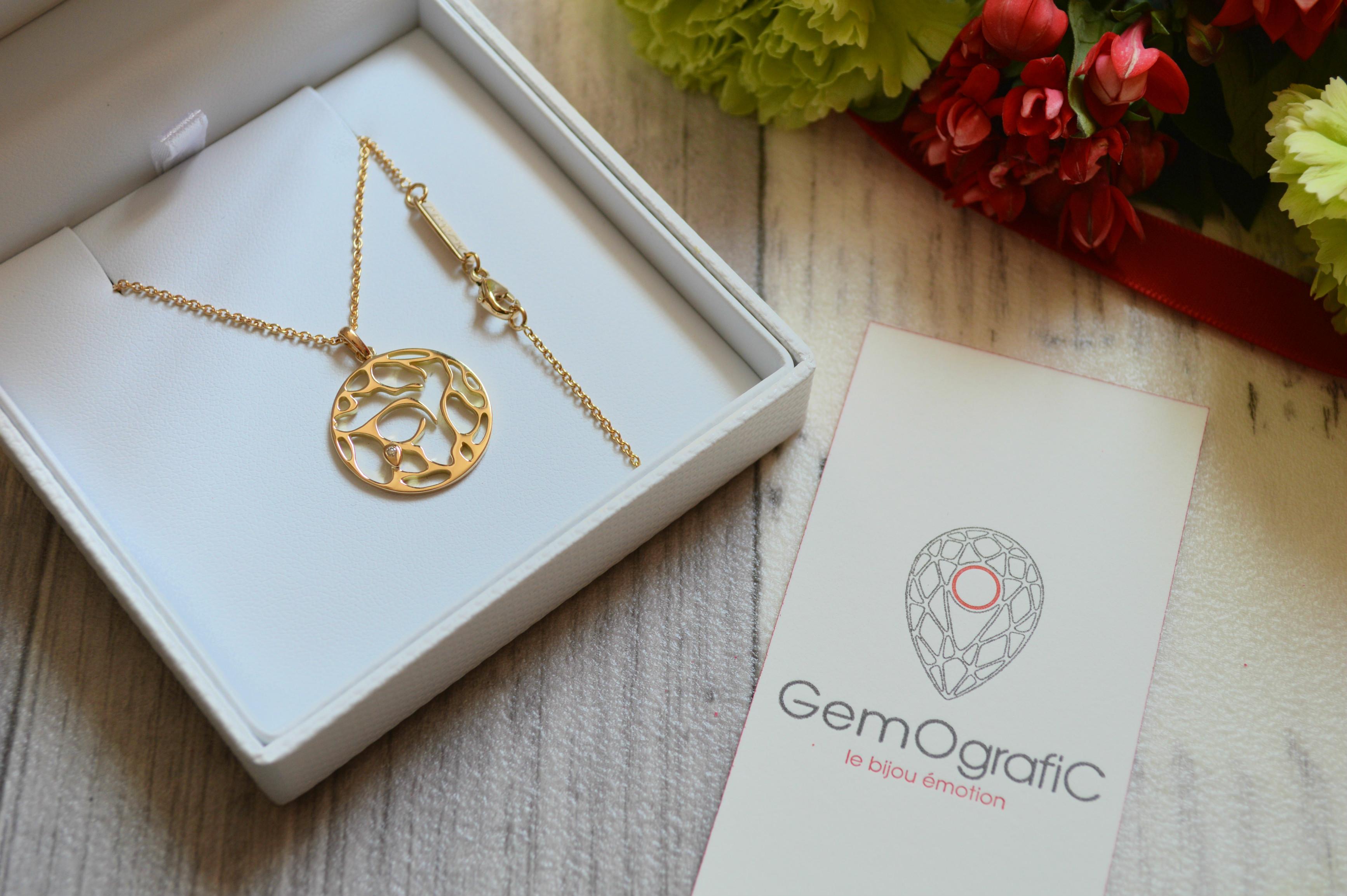 bijou sur mesure Gemografic cadeau de fête des mères - blog Camille In Bordeaux