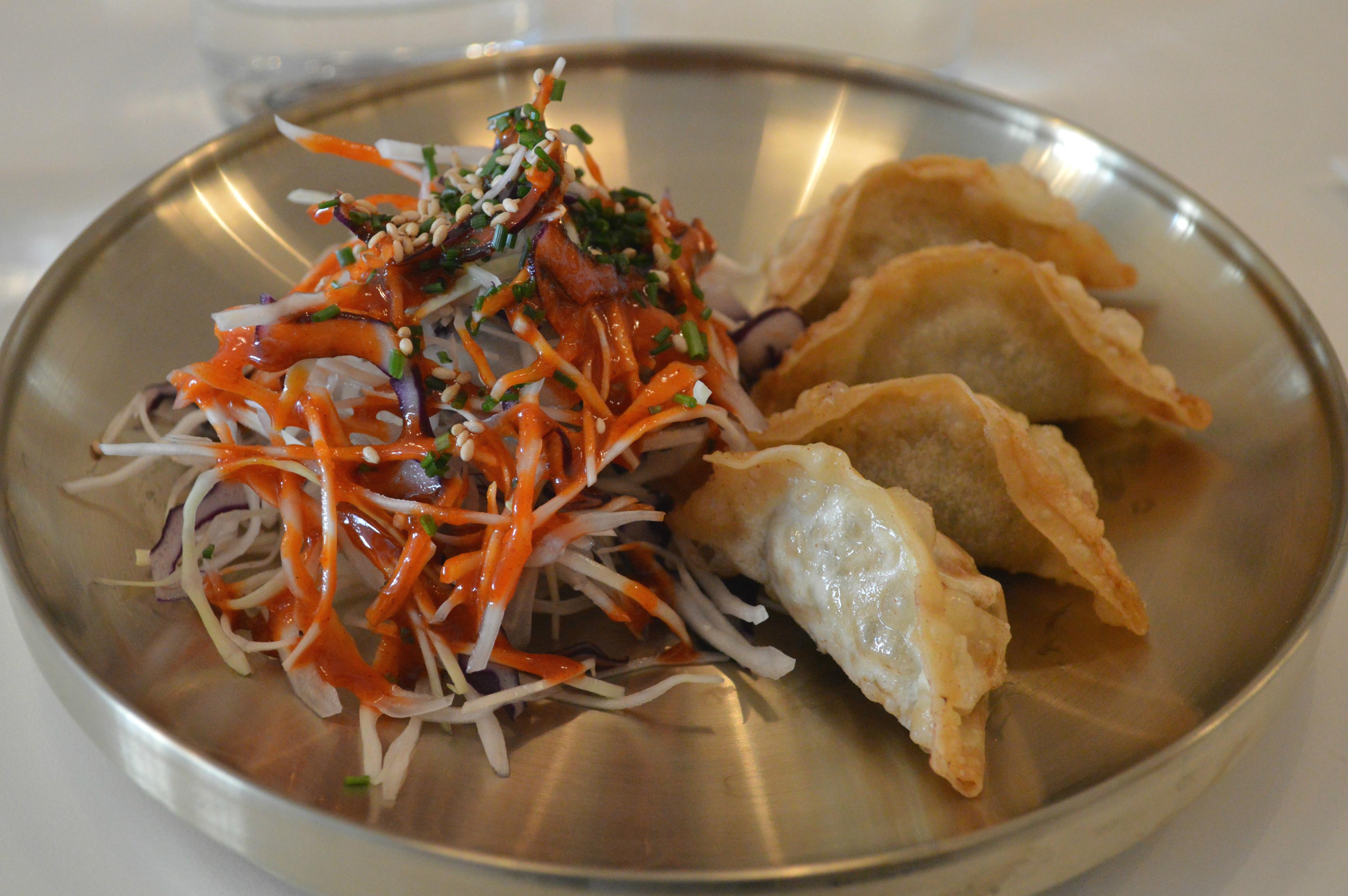 raviolis Bordeaux cuisine coréenne - blog Camille In Bordeaux