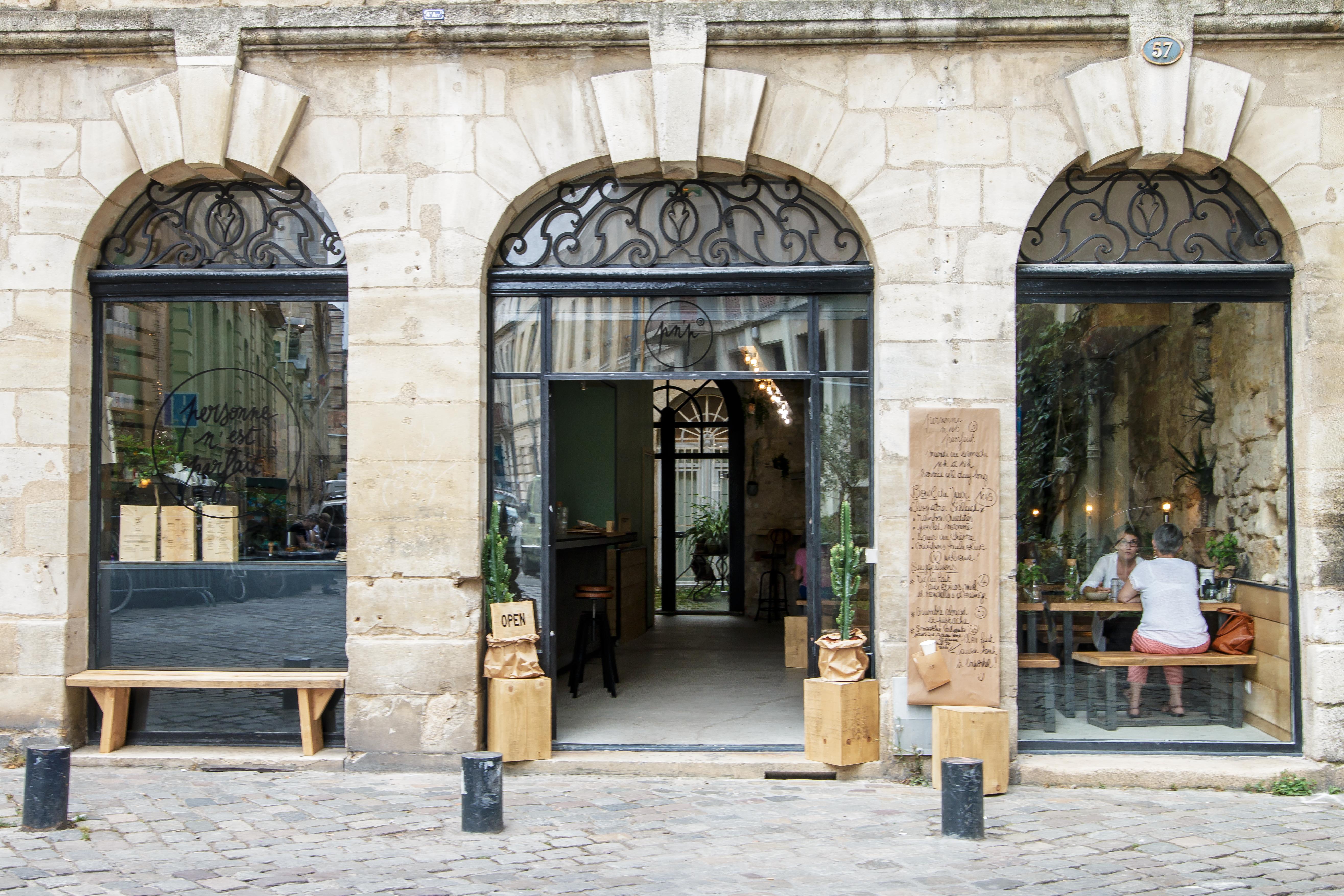 Personne n'est parfait restaurant Bordeaux - blog Camille In Bordeaux
