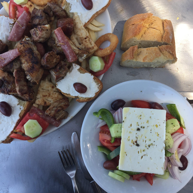 Tsolis camping en Grèce - blog Camille In Bordeaux