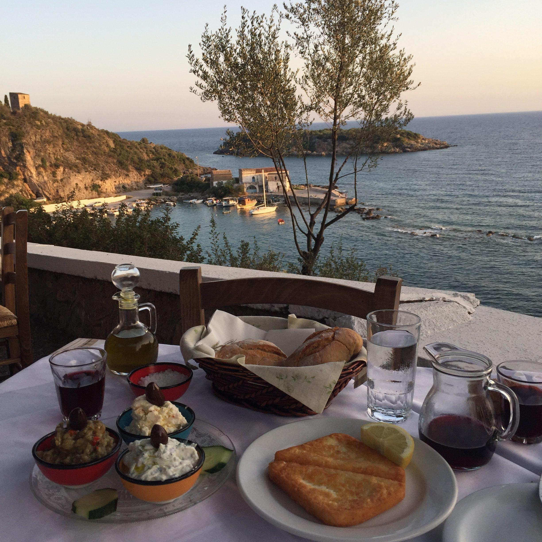 Kardamyli restaurant voyage en Grèce Péloponnèse - blog Camille In Bordeaux