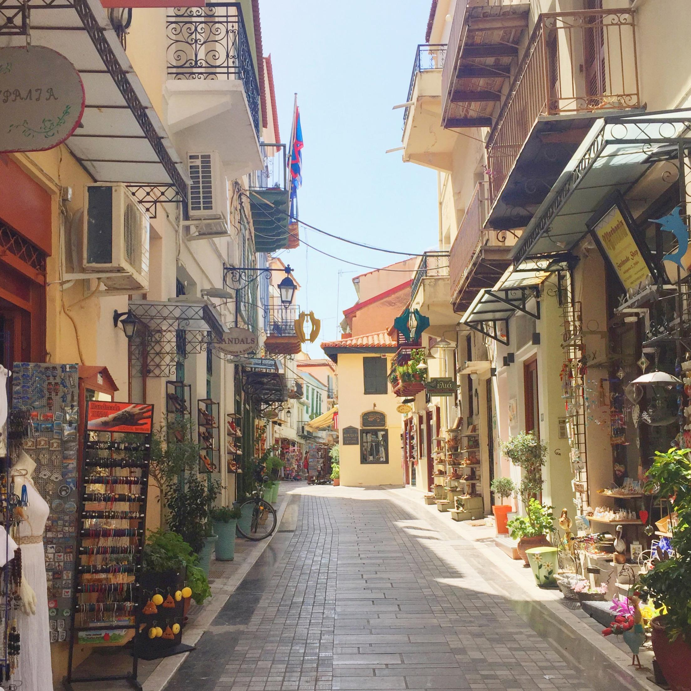 Nauplie Grèce - blog voyages Camille In Bordeaux