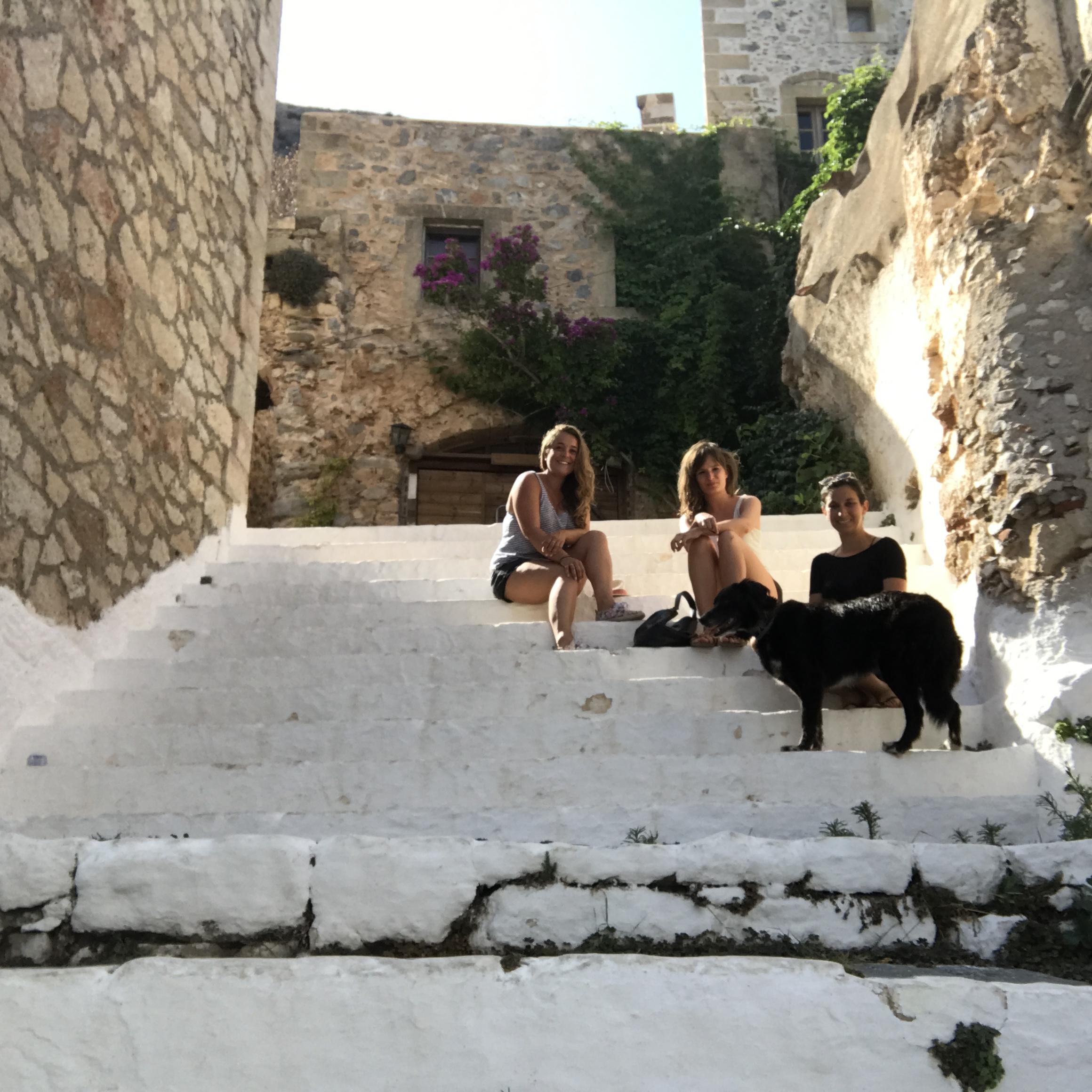 road trip entre filles en Grèce - Camille In Bordeaux