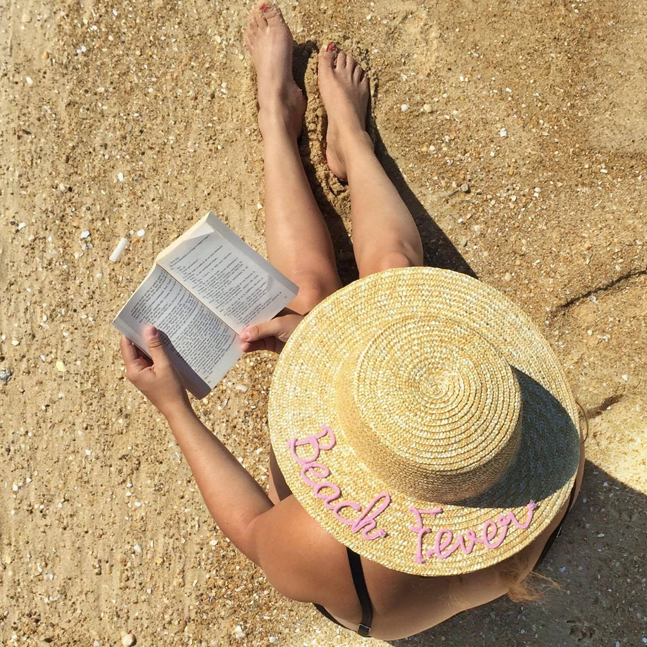 chapeau paille beach fever Pimkie - blog Camille In Bordeaux